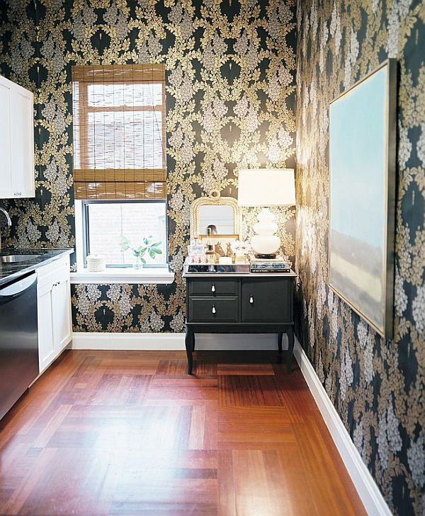 Charming 6 Kitchen Wallpaper Ideas We Love Pictures
