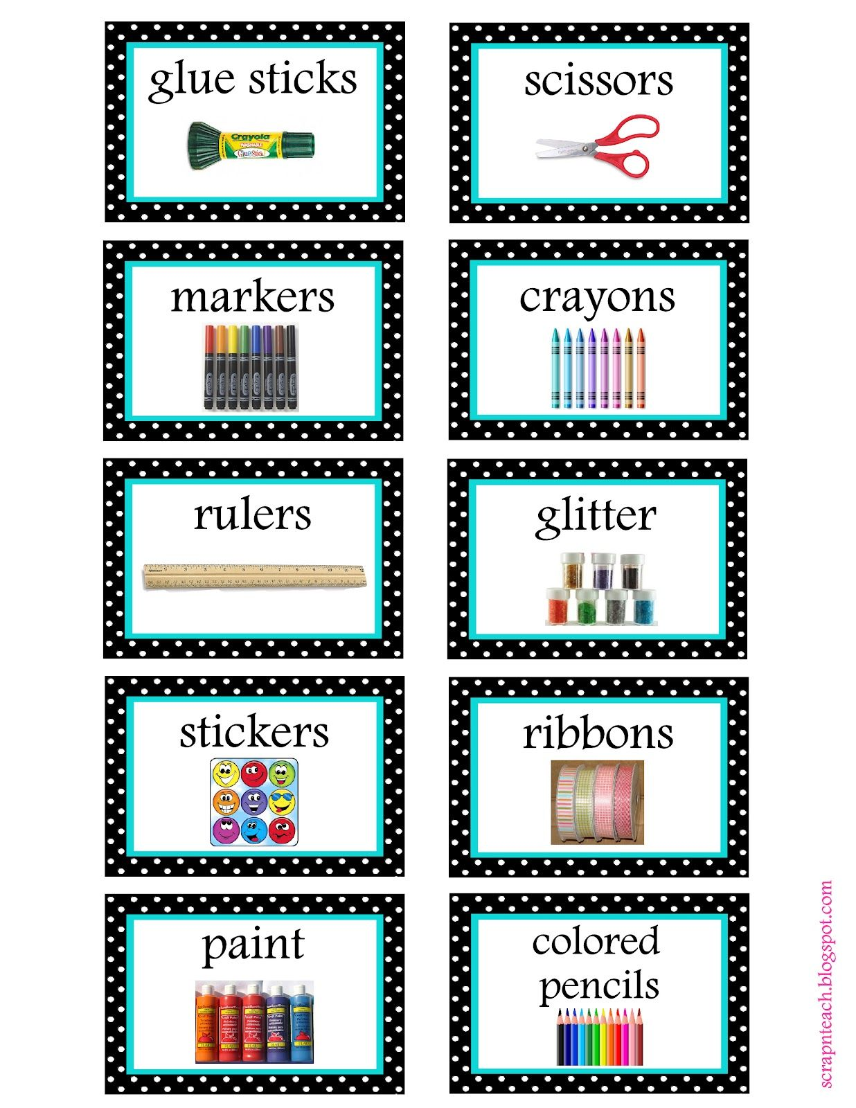 Free Organization Label Printables We Won T Be Needing That Glitter Label In Our House