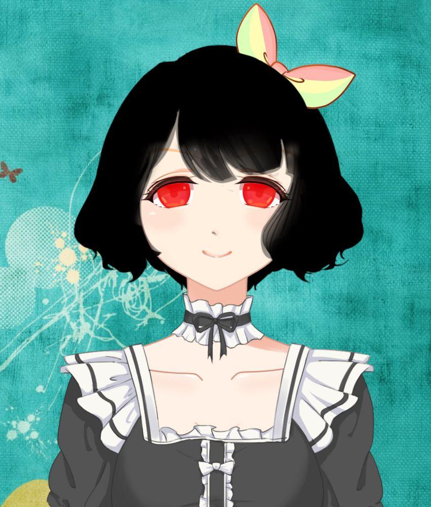Scary girl Anime, Scary, Art