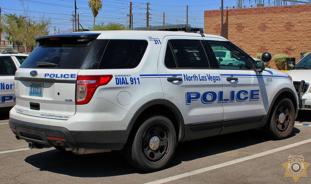 North Las Vegas Police 2016 Ford Police Interceptor Utility Ford Police Police Cars Police