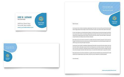 Employment Agency Letterhead Template Download Pinterest - free microsoft word letterhead templates