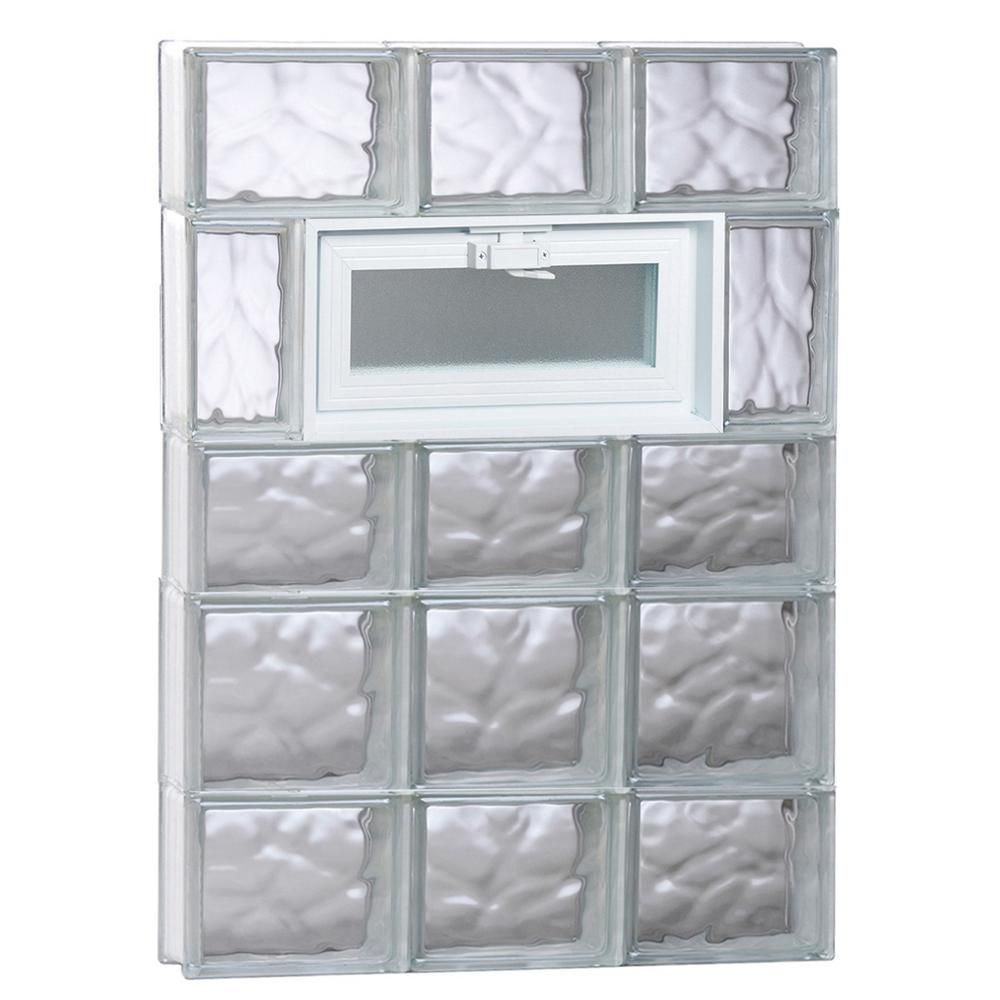 Clearly Secure 23 25 In X 32 75 In X 3 125 In Frameless Wave