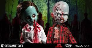 Afbeeldingsresultaat voor mezco living dead dolls 2inch Figures