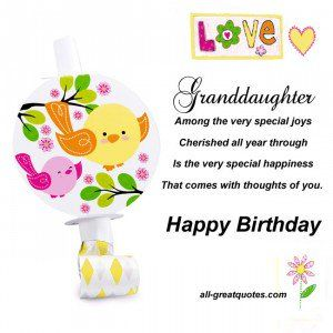 Quotes About Granddaughters Birthday Inspirational Quotes For Granddaughter Birthday Greetings For Facebook Granddaughter Birthday Free Happy Birthday Cards