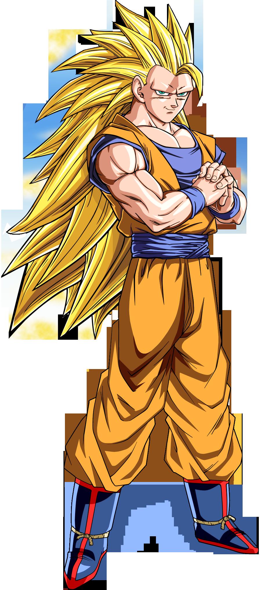 Goku super saiyajin fase 3 drag n ball z goku - Sangoku sangohan ...