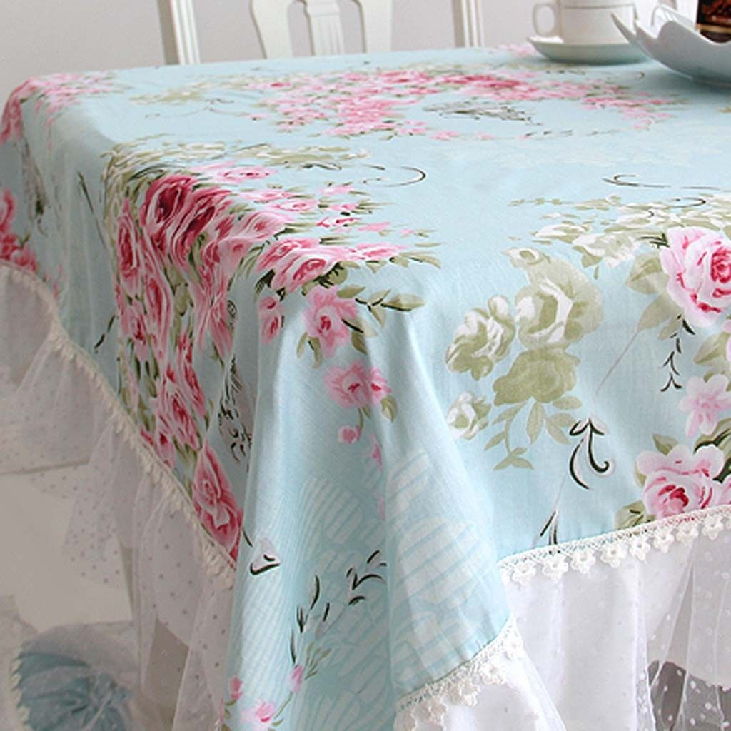 Attractive Victorian Rose Tablecloth