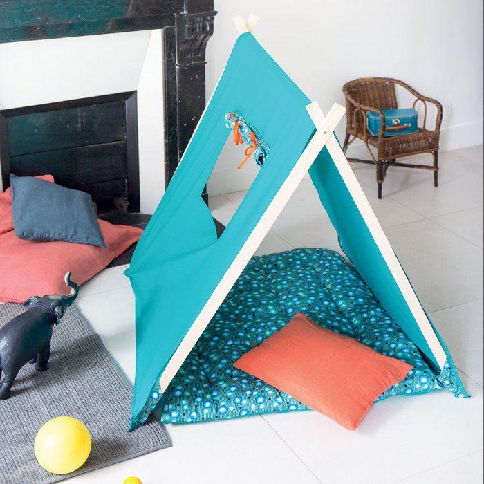 diy fabriquer une tente ou un tipi pour enfant marie. Black Bedroom Furniture Sets. Home Design Ideas