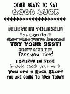 Encouragement Phrases Words 3