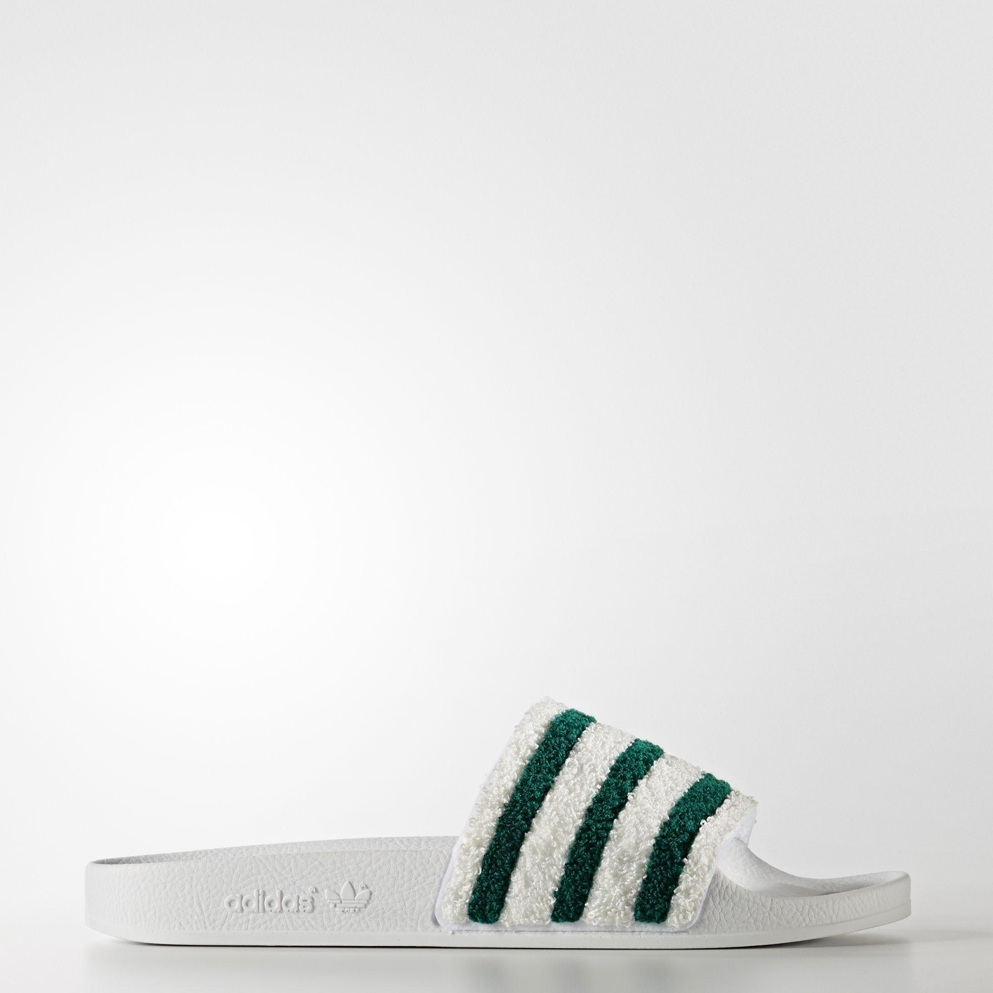 the best attitude 310bf 8dd4c ... adidas adilette Slides - White adidas US cozy fresh f97cd e4e98 Men ...
