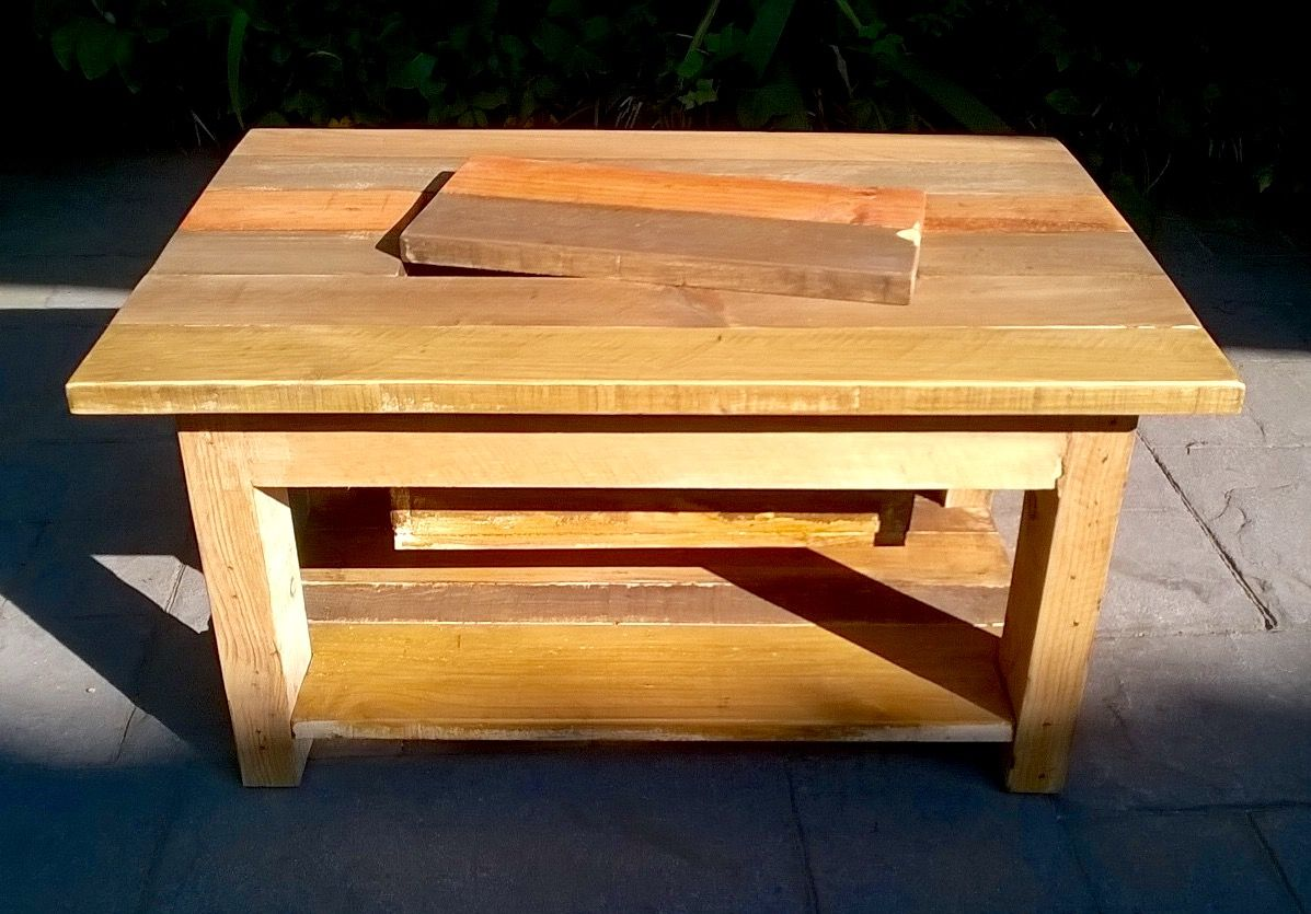 Pallet Coffee Table With Recessed Ice Chest Coffee Table Pallet Coffee Table Chest Coffee Table