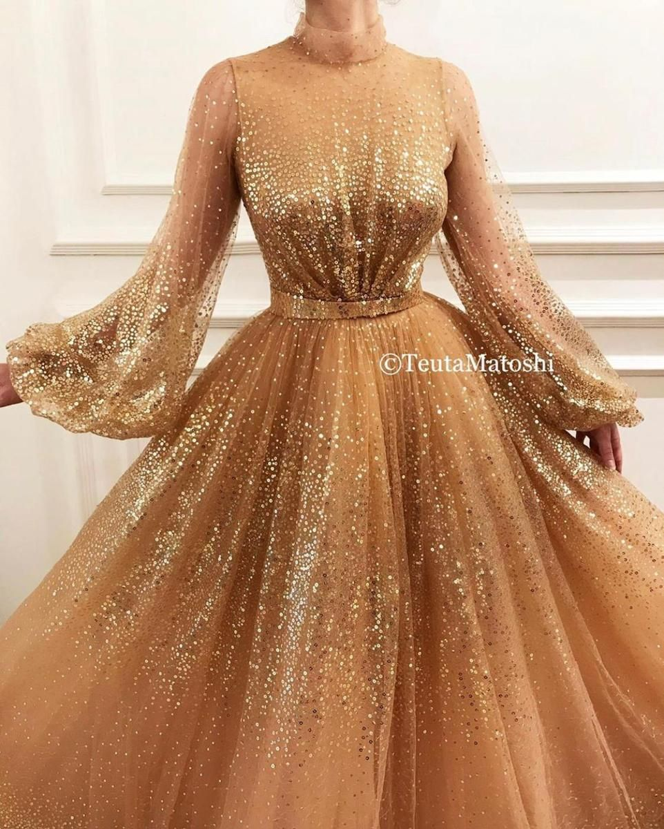 27++ Gold colored dress ideas