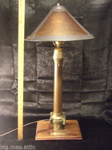 Antique Vintage Fire Nozzle Lamp Nozzle From The Queen Mary Famous Ship Lamp Antiques Vintage