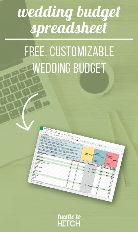 3 reasons why you need a digital wedding budget plus a FREE budget
