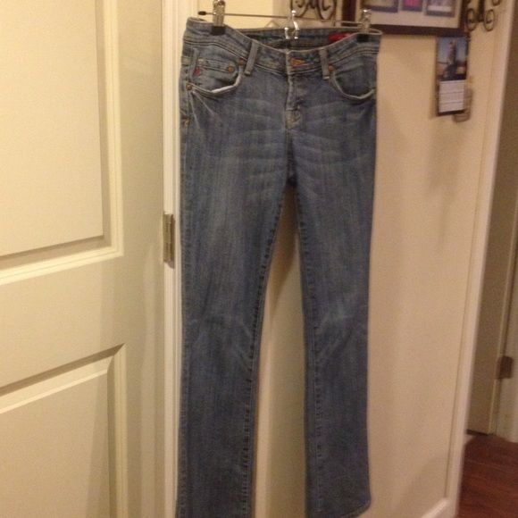 Get you 7 Jeans Light blue Seven Jeans!!!! 7 for all Mankind Jeans Straight Leg