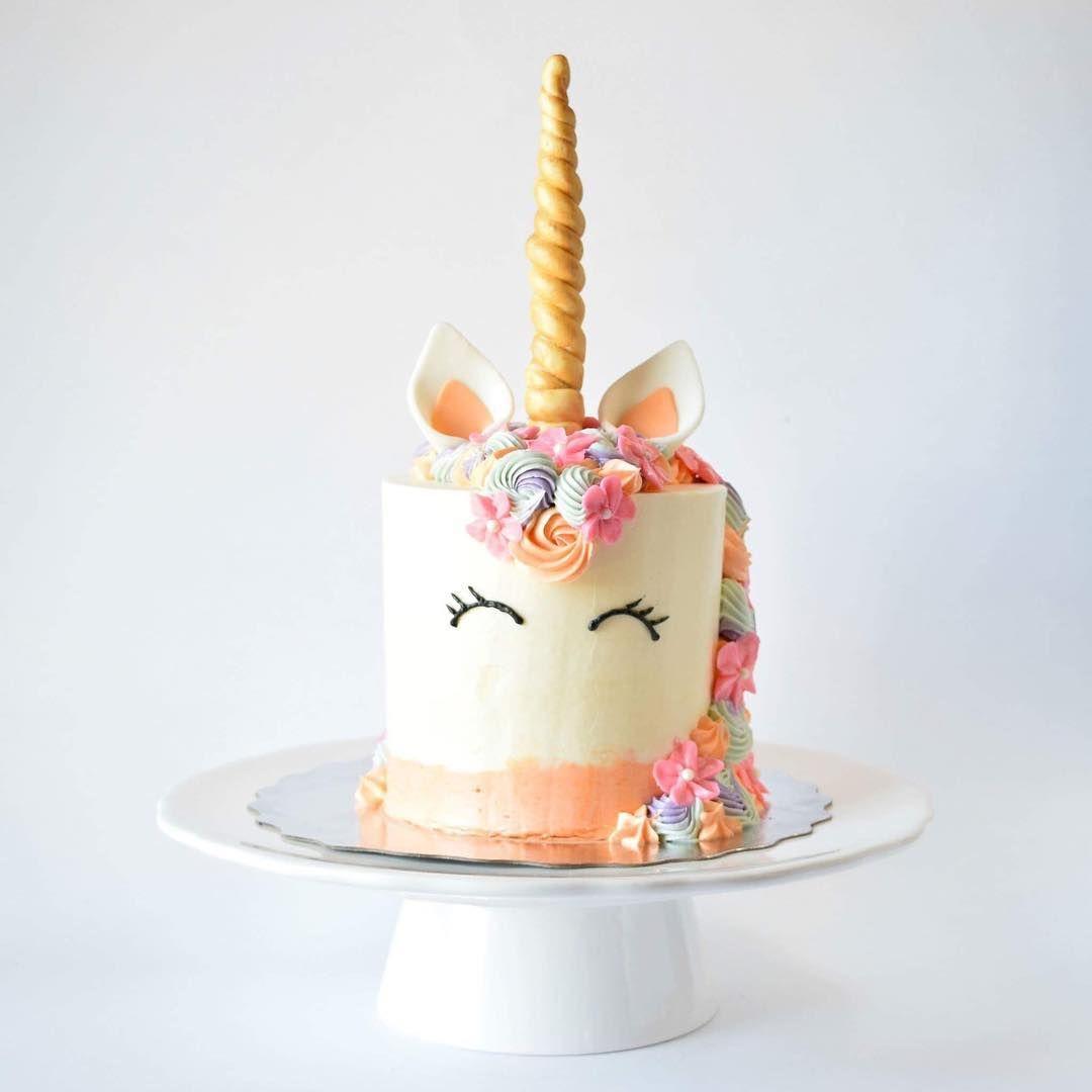 melissagracedesserts dessert cake food yummy unicorn pretty