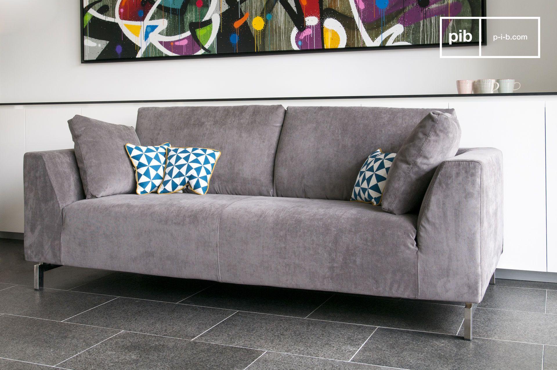 Gemutliche Couch Dekoration : Ausziehbares sofa dakota couch und schlicht