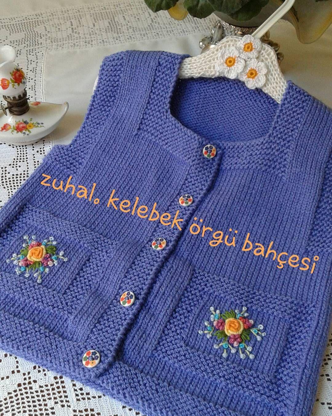 Mantarlı Bebek Kazak Yapılışı