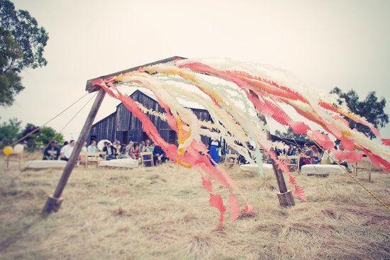 #DIY carnival wedding