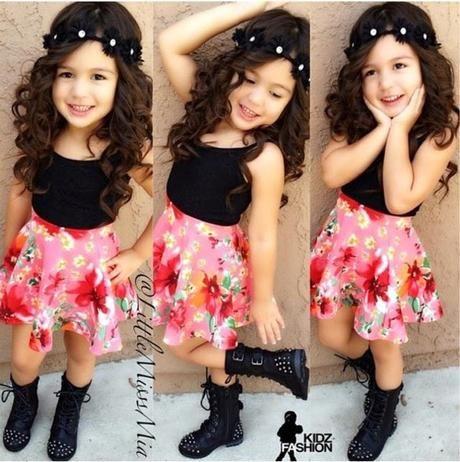 3b81ba31f Como vestir a niñas de 2 a 10 años | Arte | Ropa de moda, Moda para ...