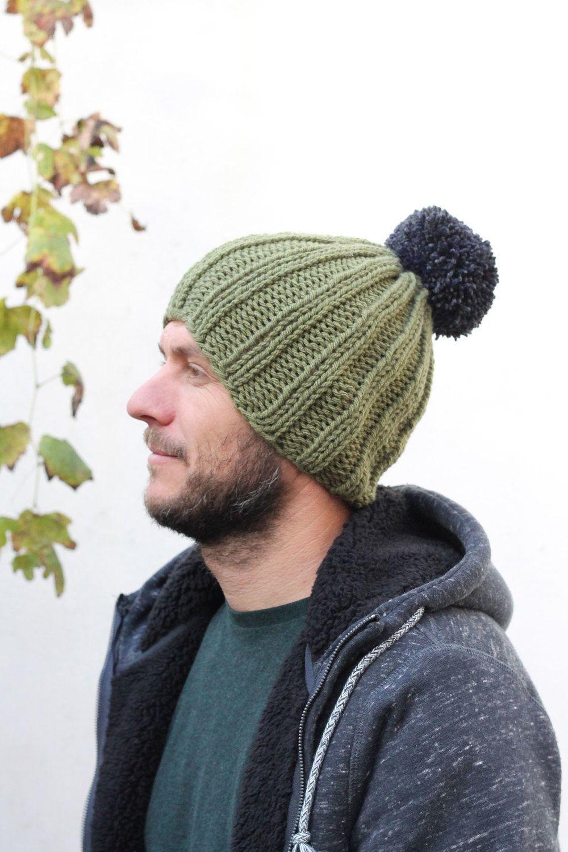 Free Men\'s Hat Knitting Pattern | Knitting patterns, Patterns and Free