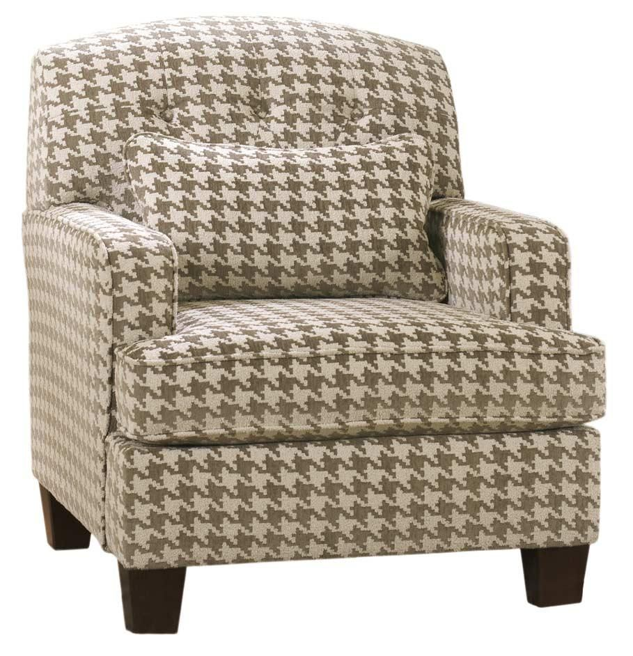 Patrick Contemporary Houndstooth Accent Chair With Track Arms By Signature  Design By Ashley At Rotmans · Living Room ...