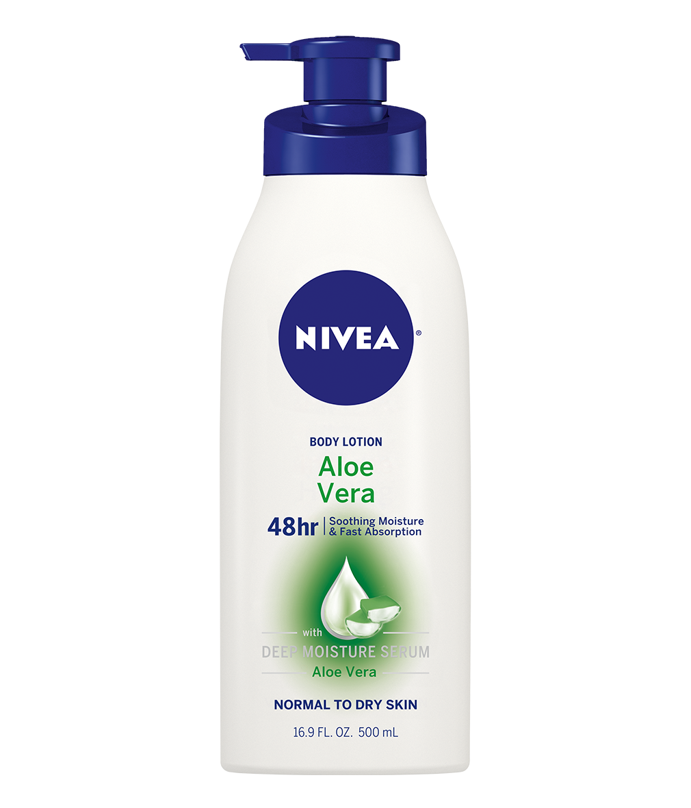 NIVEA® Aloe Vera Body Lotion provides normal to dry skin