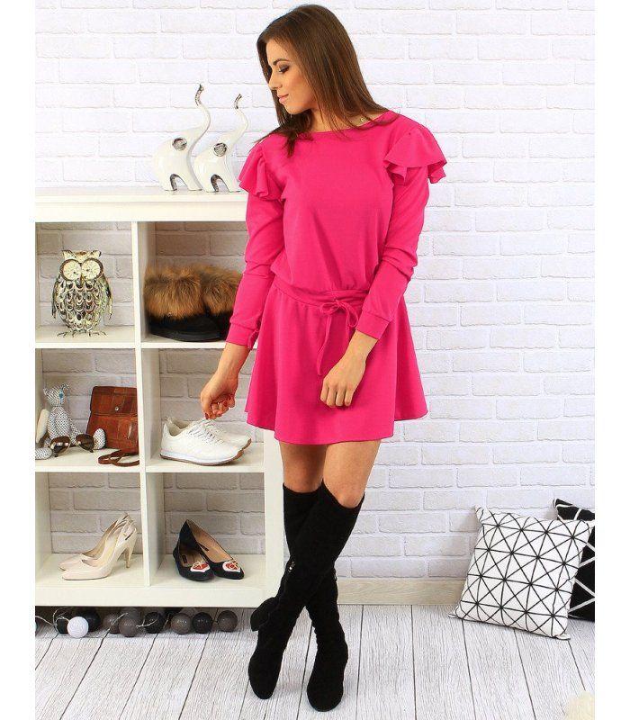 7f671117de7e Bordové plisované šaty