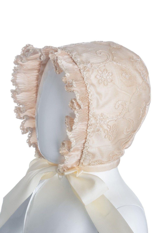 Ropón de Bautizo para niña color beige Modelo A50   ceremonias ...