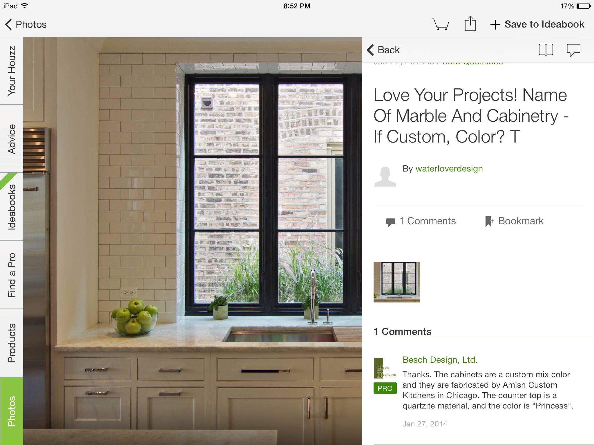 Perfect cabinet style & deep set bronze casement window