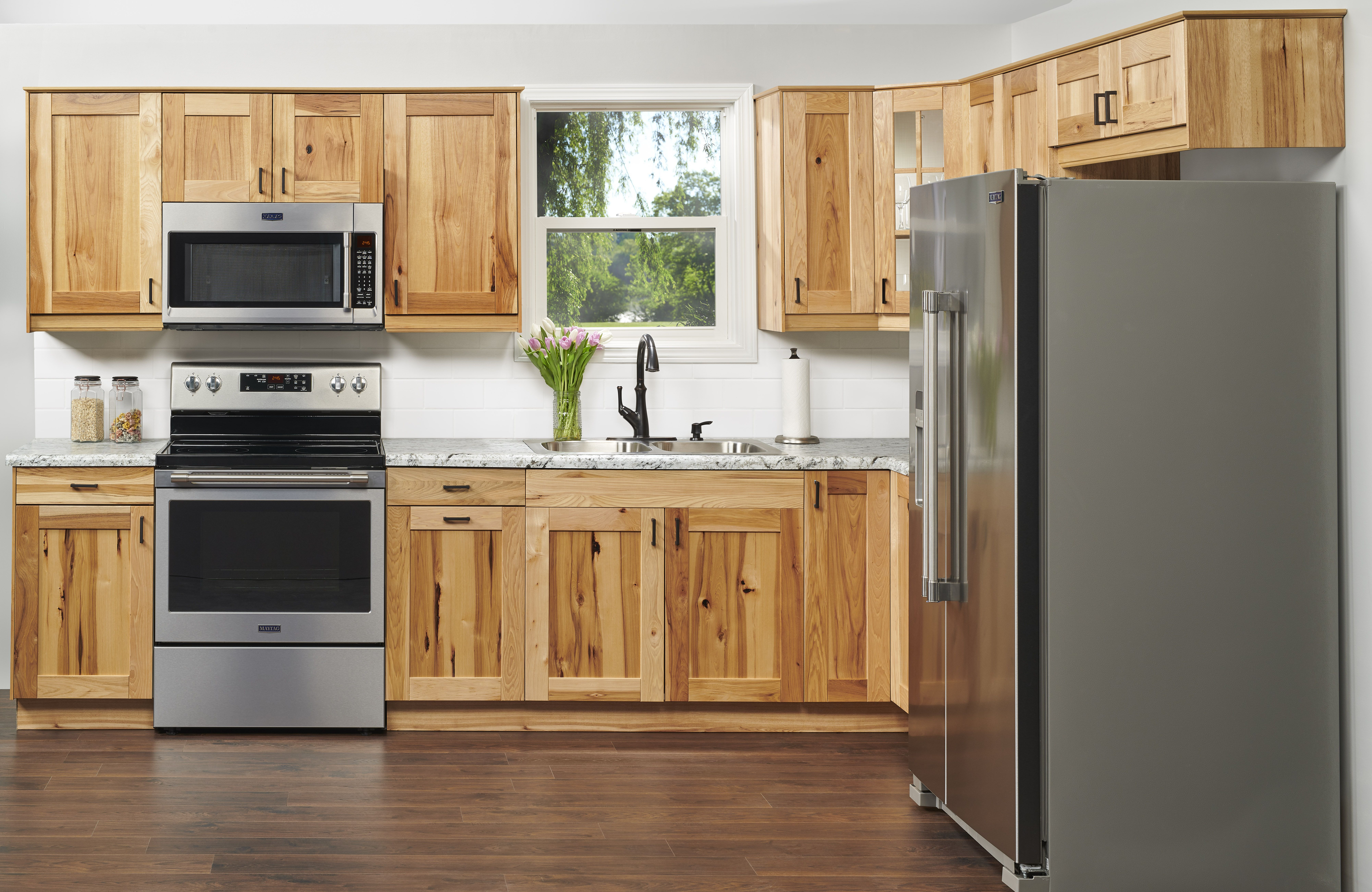 Travik Hickory Klearvue Cabinetry Hickory Kitchen Cabinets Hickory Cabinets Hickory Kitchen