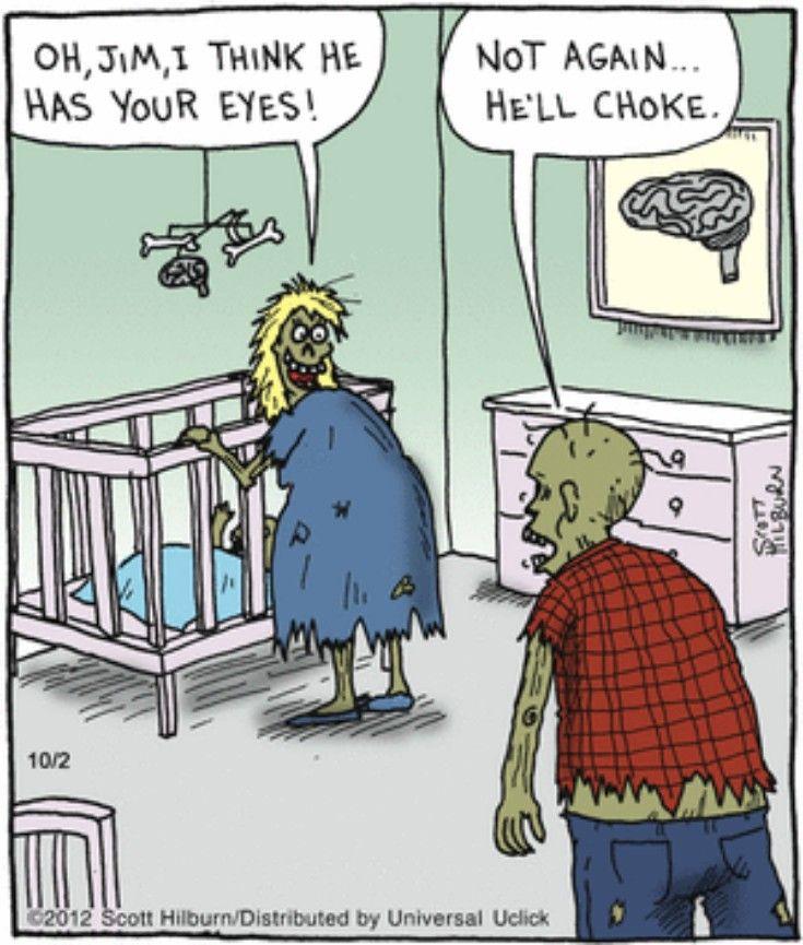 42 Of 53 Funny Halloween Comics With Images Halloween Jokes