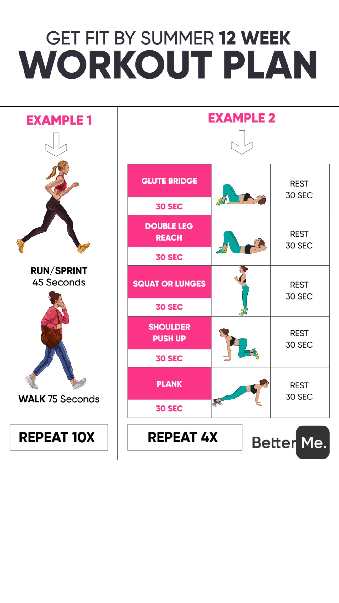5. Get fit by summer
