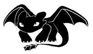 Pin Von Colizzan Auf Tattoo Drachen Silhouette Hicks Und Ohnezahn Drachen