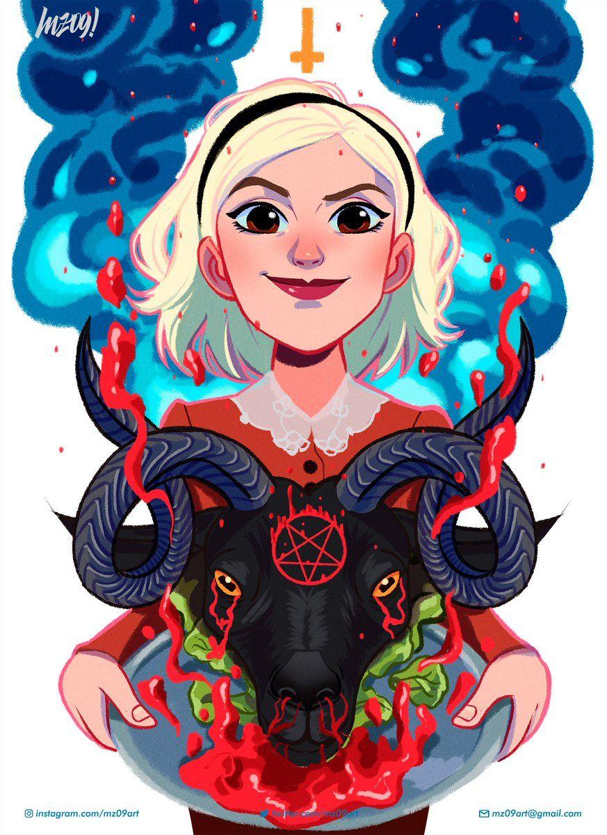 Juionagaita On Twitter Sabrina Witch Sabrina Spellman Witch