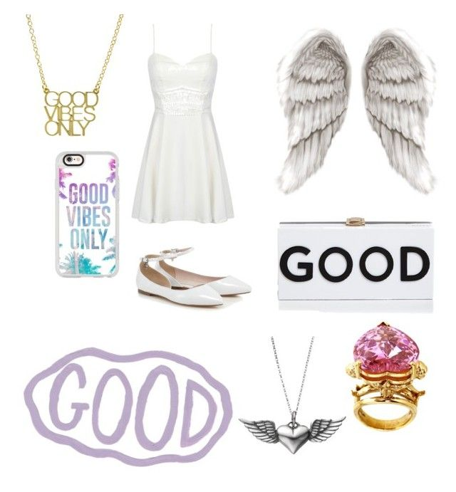 """Good"" by sillygirl14 on Polyvore featuring Milly, Casetify, Metal Couture and Journee Collection"