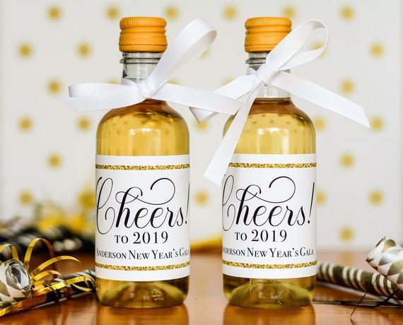 new years eve mini wine labels mini wine champagne labels personalized new years wedding favors
