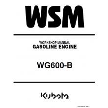 kubota wg600 b gasoline engine workshop manual 9y011 00433 pdf rh pinterest com