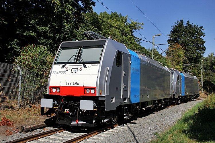 "Bombardier ? Railpool ""186 494"""