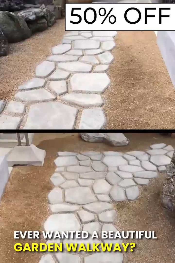 Photo of Garden Path Maker Mold 😍 (50% OFF)