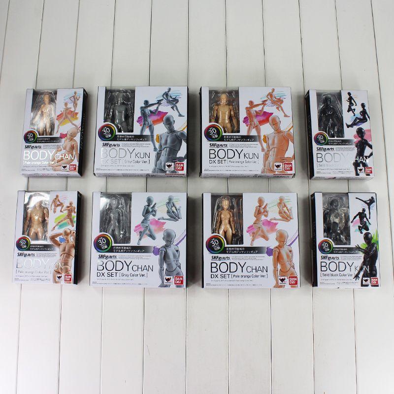 8 Stil Urform Er Urform Sie Ferrit SHFiguarts KÖRPER KUN KÖRPER CHAN Ver. PVC Action Figure Sammeln Modell Spielzeug mit box