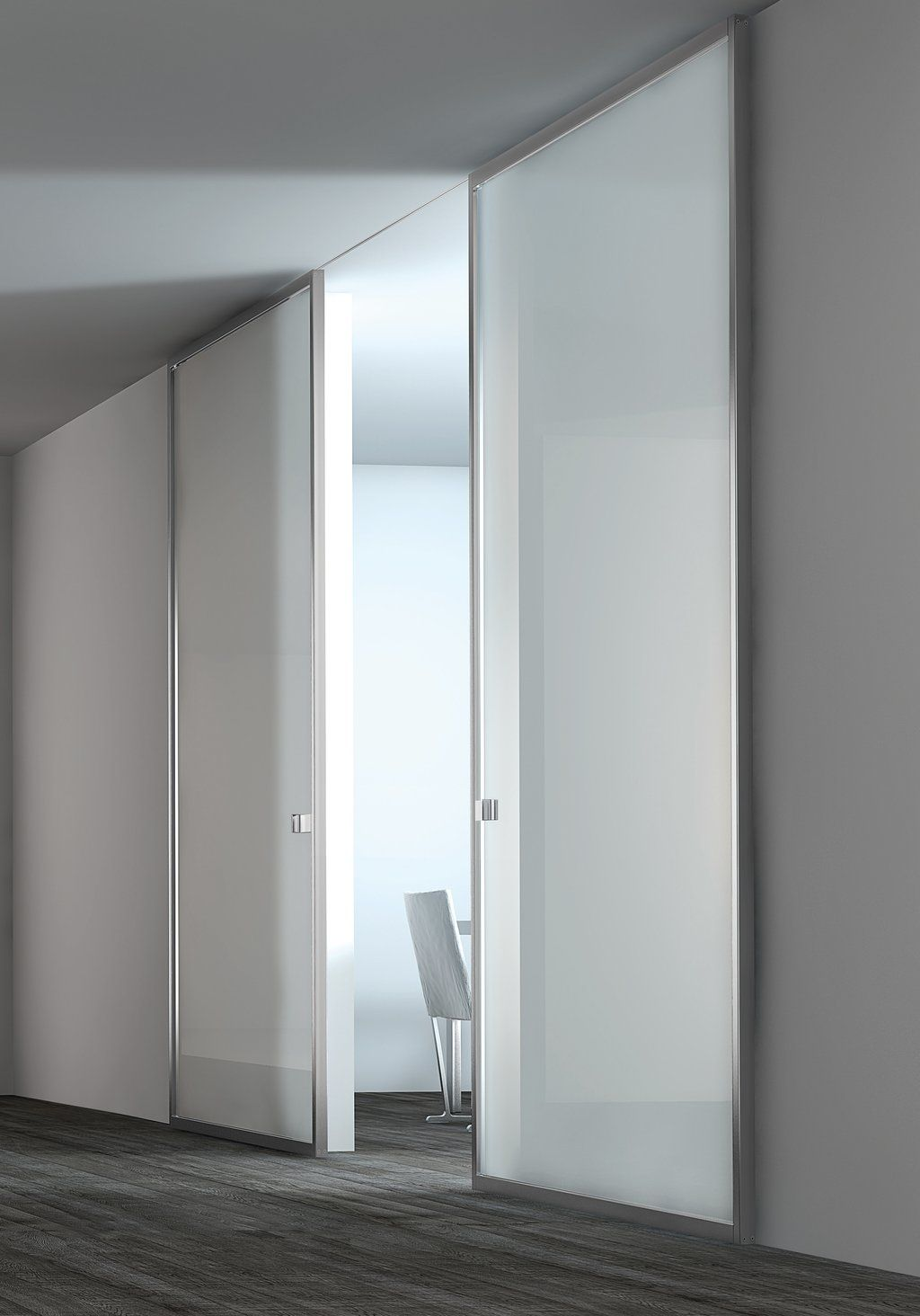 white lacquer glass panel stainless steel door. Black Bedroom Furniture Sets. Home Design Ideas