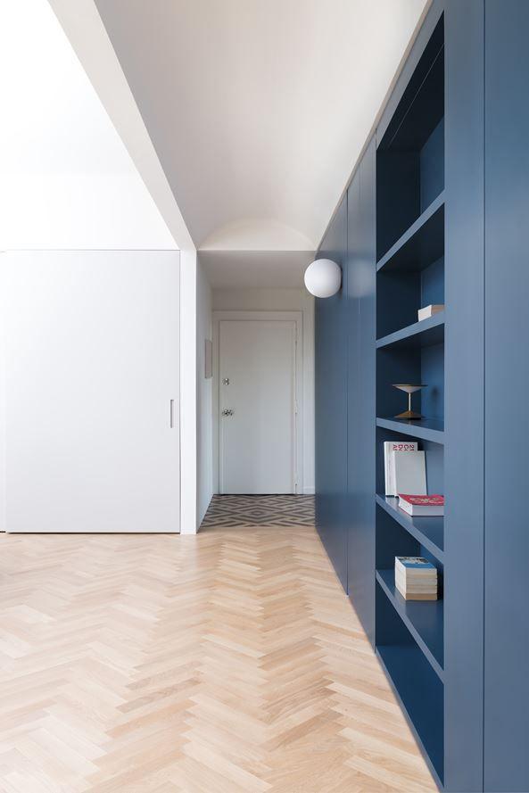 Attico alla ca brutta picture gallery interior for Interni architettura