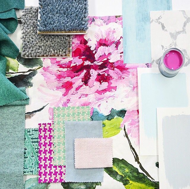 Designers Guild mood board Love these colours