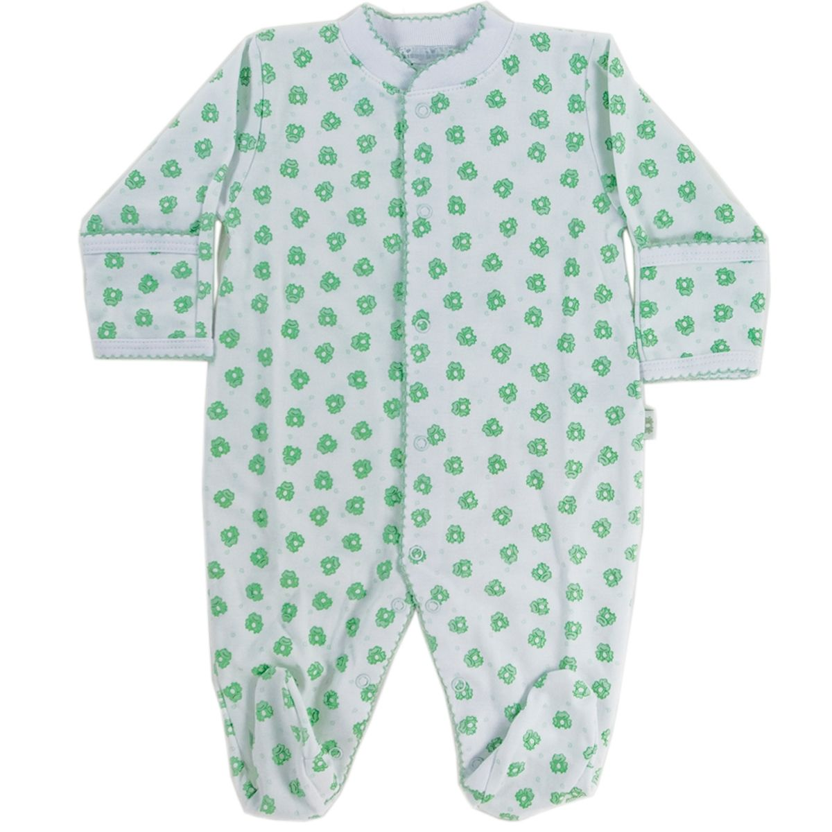 dd1b68c15 Kissy Kissy Footie Green Frog | Twins! | Green frog, Baby, Infant