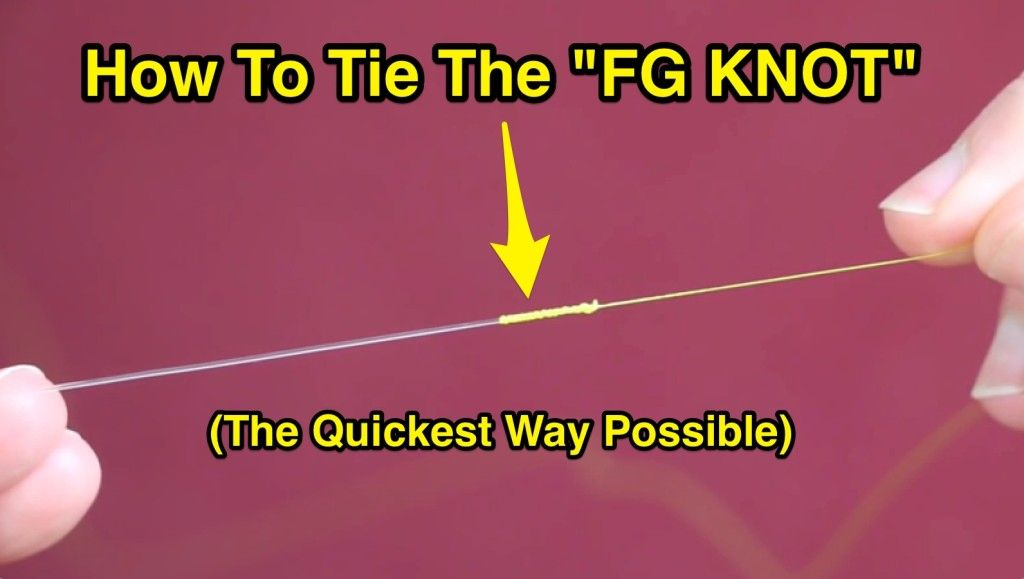 Fastest easiest way to tie the fg knot free pdf guide included n fastest easiest way to tie the fg knot free pdf guide included ccuart Choice Image