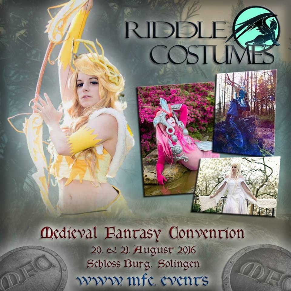 Special Guest Riddle Riddlecostumes Mfc Mfcon Fantasy Solingen Gast