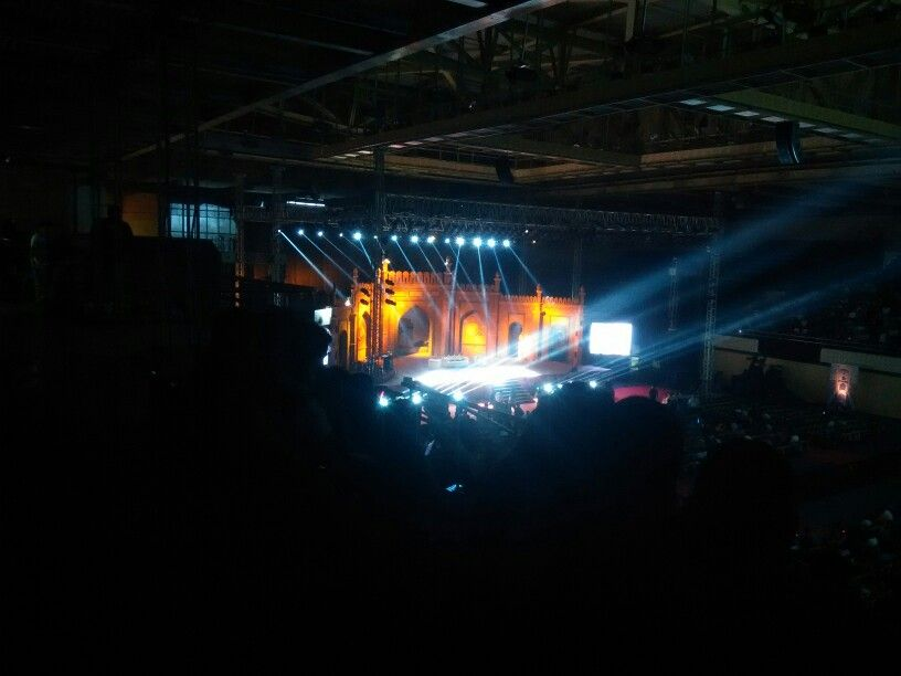 The kapil sharma show stage setup | photography | Kapil sharma