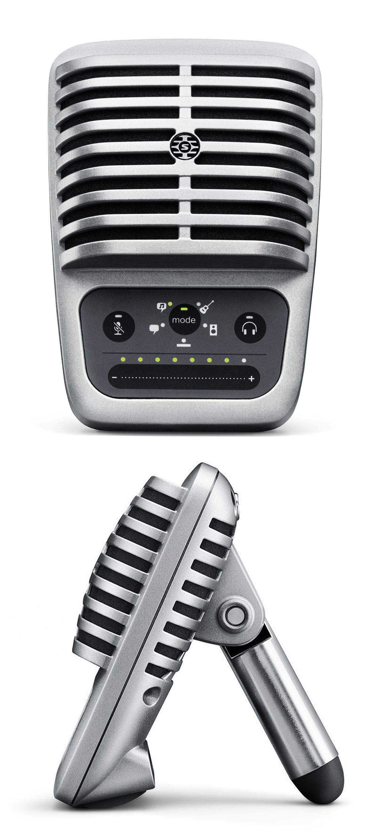 Shure Mv51 Digital Large Diaphragm Condenser Microphone Audio Ribbon Diagram