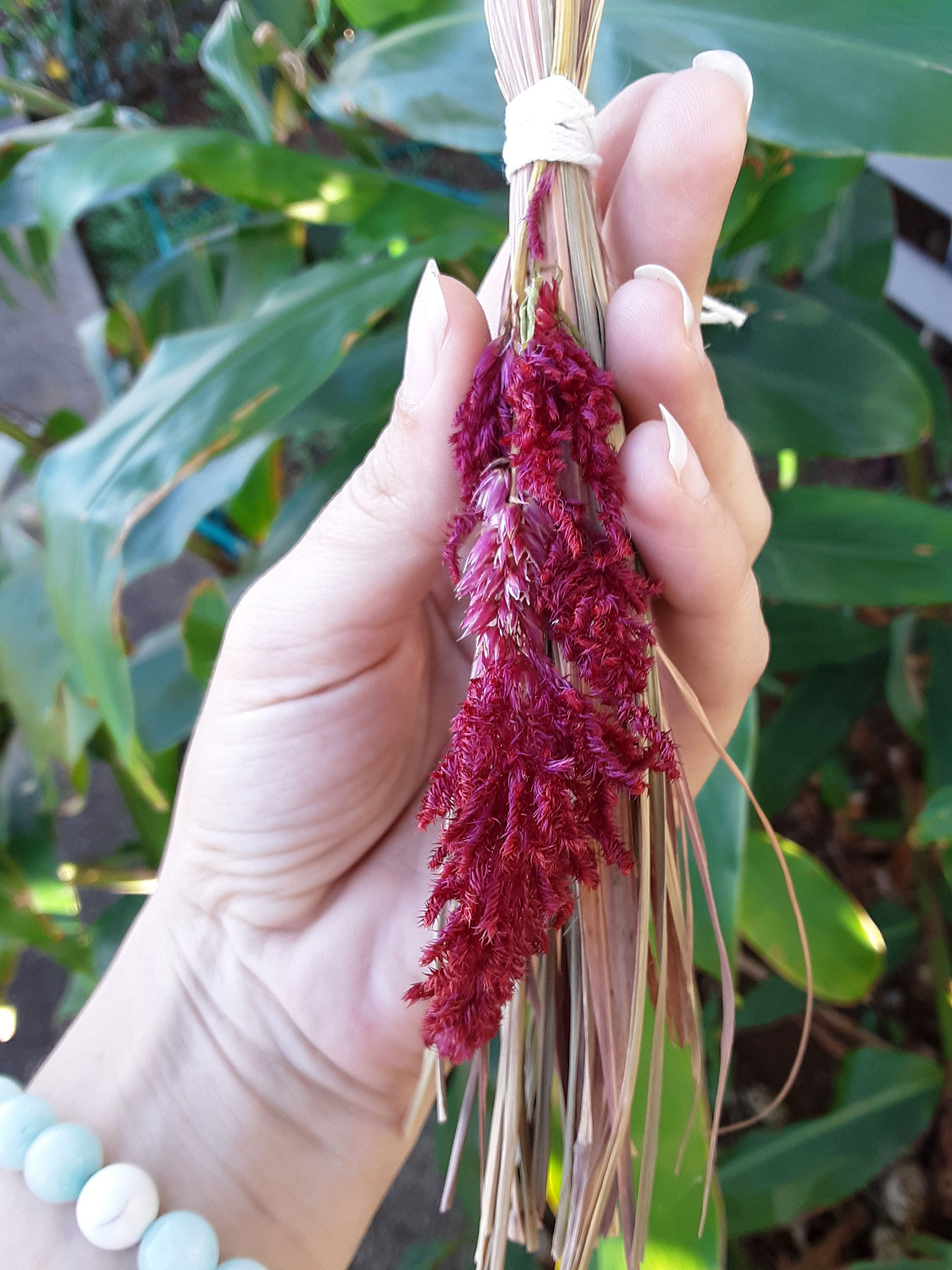 Besom Lemongrass Witch Broom Broom Witch Besom Altar Items Altar Tools Basil Dried Flower Dried Herbs Handcraf Drying Herbs Dried Flowers Witch Broom