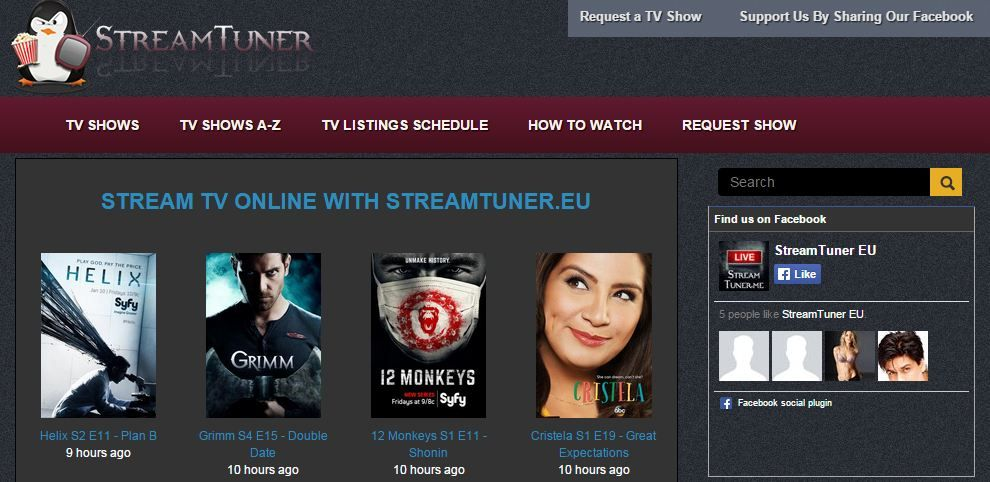 Streamtuner Streaming Movies Pinterest Movie